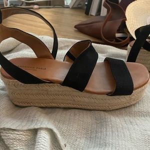 American Eagle Outfitters Shoes - American eagle platform wedge
